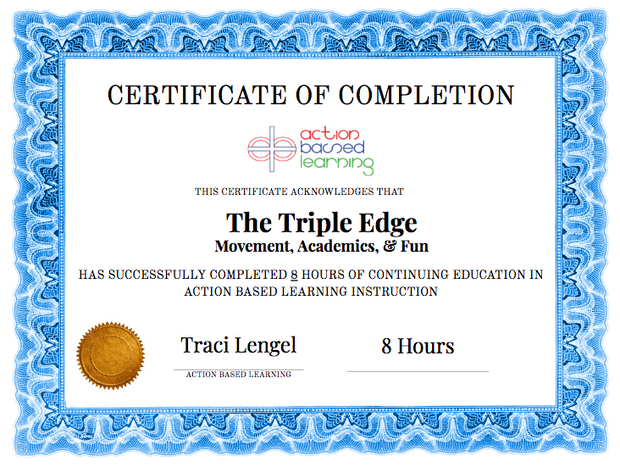The Triple Edge (Academics, Movement & Fun) Workshop