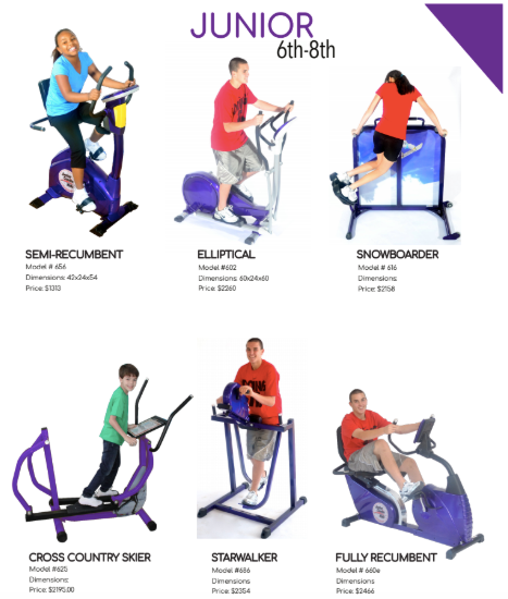 Junior Cardio Pack - actionbasedlearning