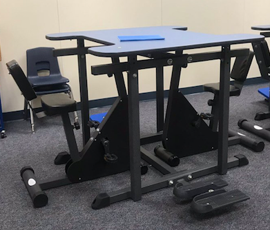 action based learning variety desk four person