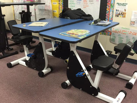 Student Pedal Desk (3-5TH) - actionbasedlearning
