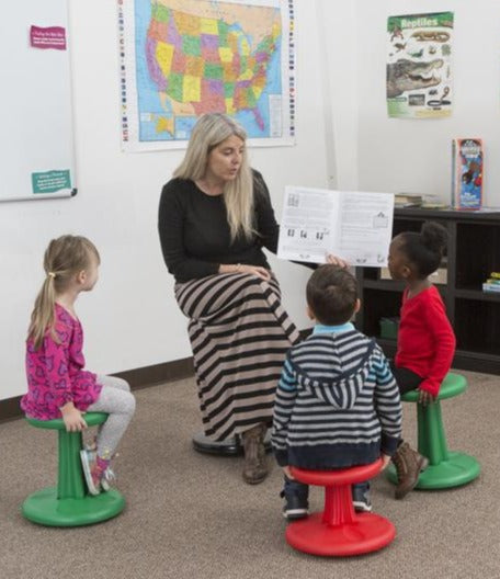 Wobble Chairs (PreK-6)