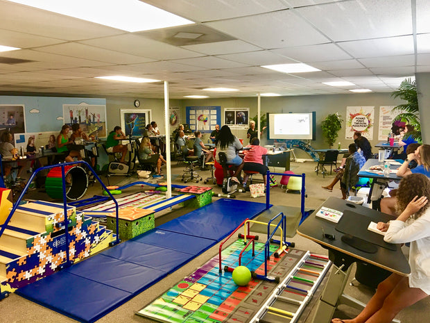 Kinesthetic Furniture & Flexible Seating: A New Age of Learning