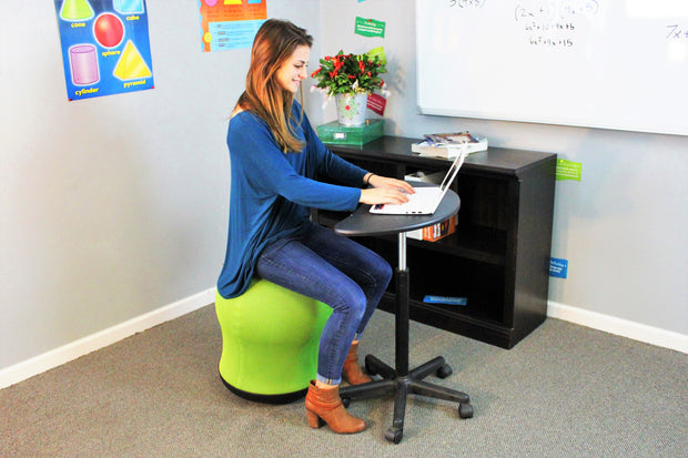 Mobile Workstation (single sit/stand desk)