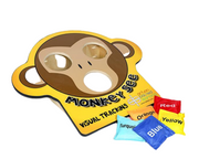 Monkey Eye Tracker Station (includes bean bags) - actionbasedlearning