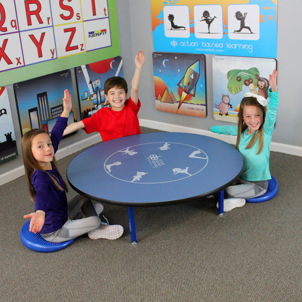 4 Person Yoga Table