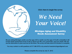 Michigan Aging and Disability Needs Assessment Survey