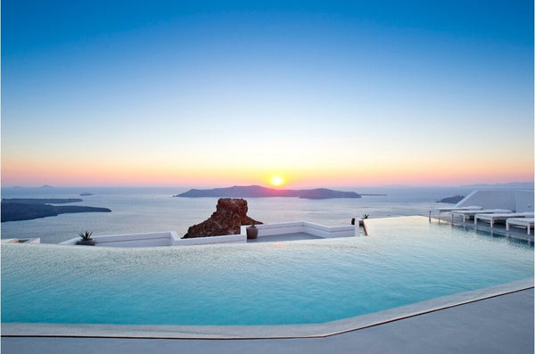 The Most Beautiful Hotels & Pools Around the World - Grace Santorini, Greece