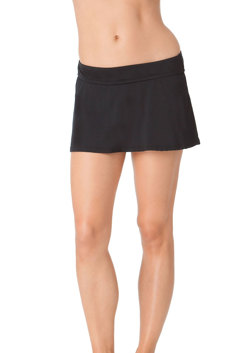 aa7c35f7d8 Anne Cole - Live In Color Rock Classic Skirt Swim Bottom