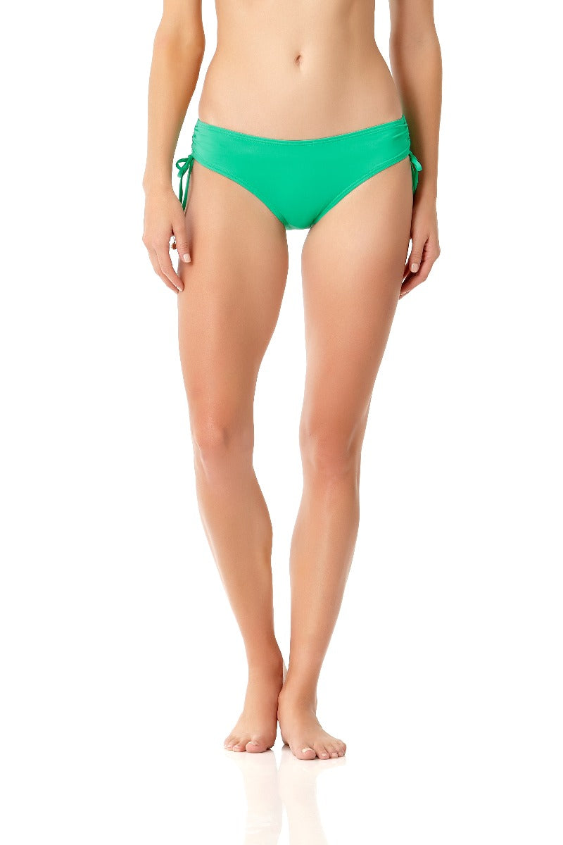Anne Cole - Live In Color Alex Side Tie Swim Bottom Green 1