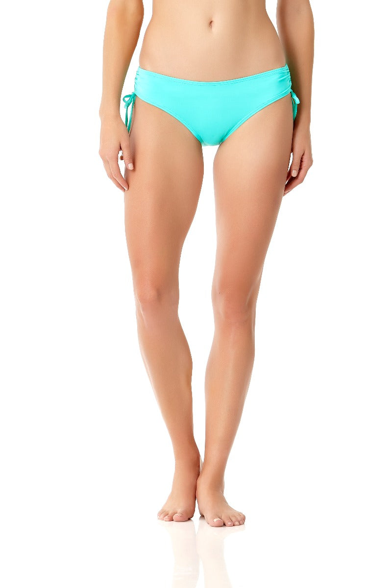 Anne Cole - Live In Color Alex Side Tie Swim Bottom Light Blue 1