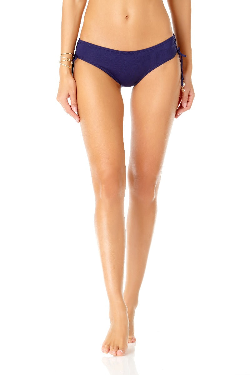 Anne Cole - Alex Side Tie Bottom Navy 1