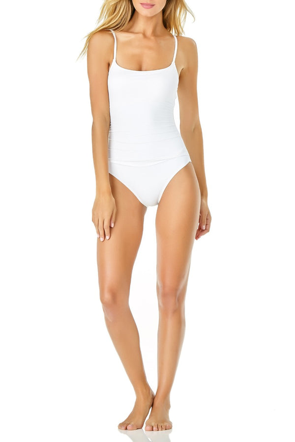 Anne Cole - Shirred Lingerie Maillot One Piece