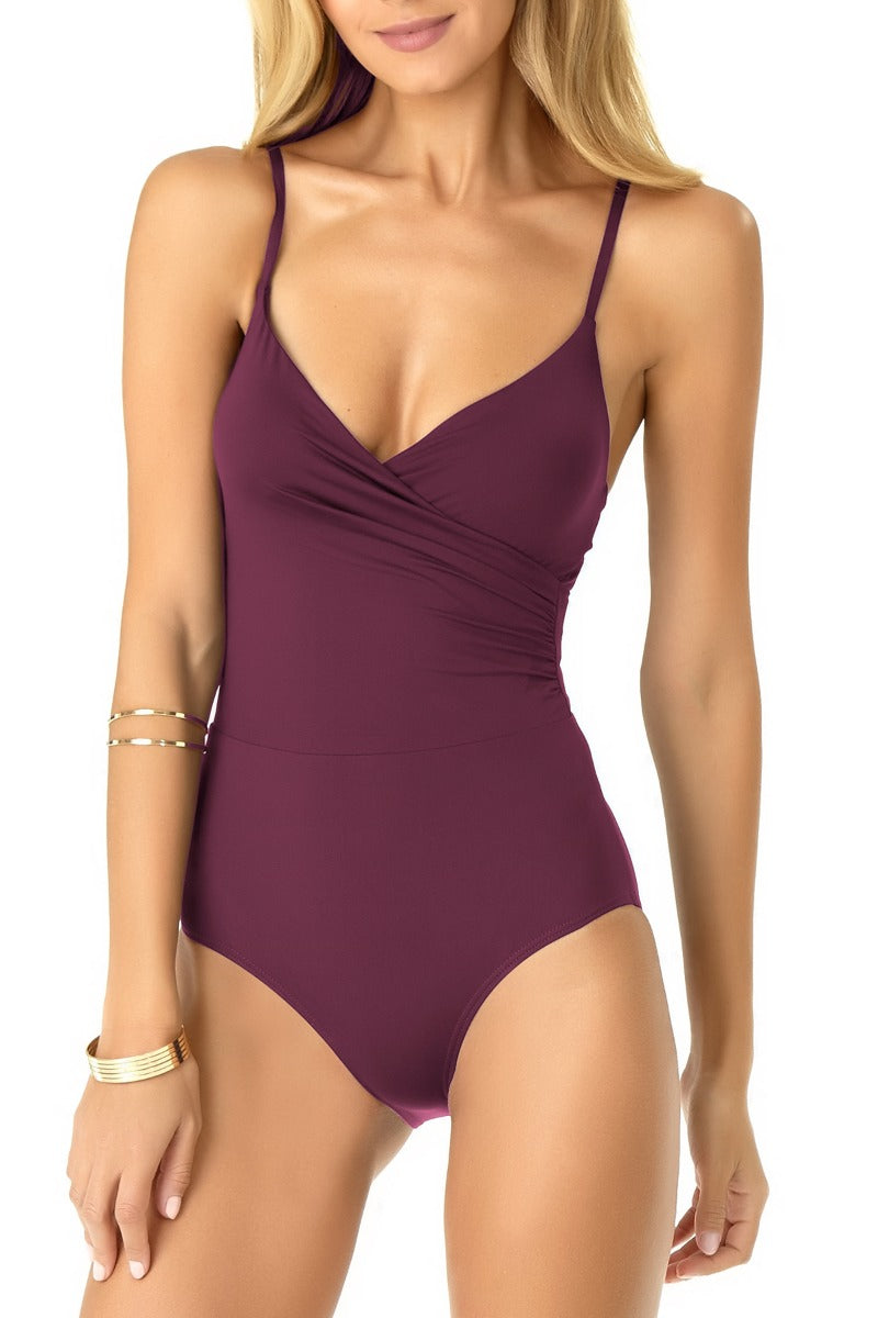 Anne Cole - Wrap Lingerie Maillot One Piece
