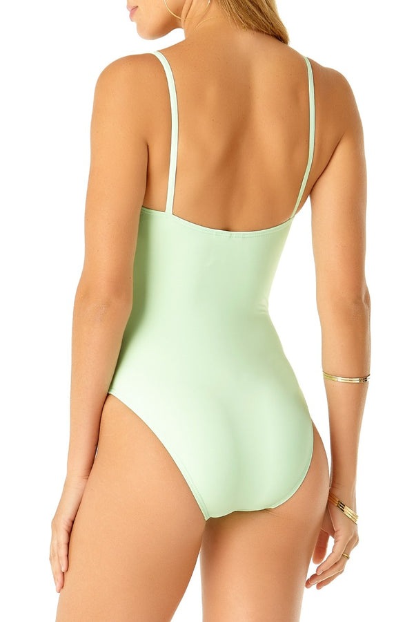 Studio Anne Cole - Vintage Maillot One Piece Green 2