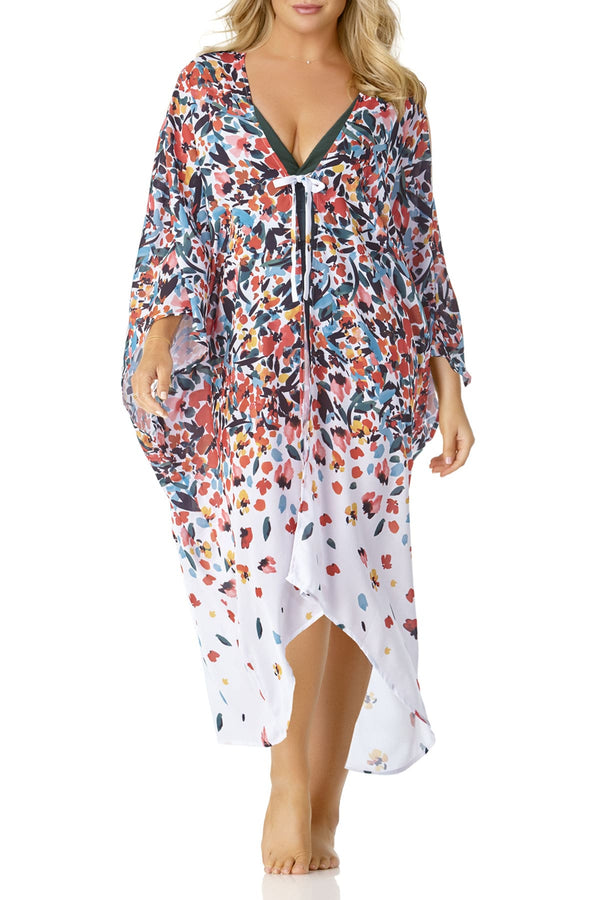 Anne Cole Plus - Engineered Maxi Robe