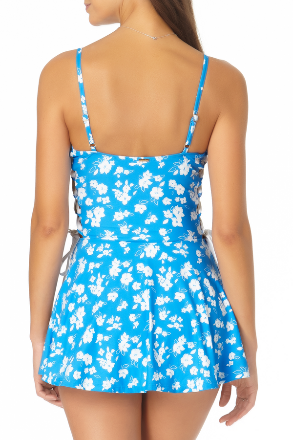 Anne Cole - Lace Up Swim Dress