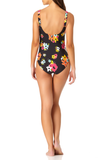 Anne Cole - Sweetheart U Trim One Piece Swimsuit