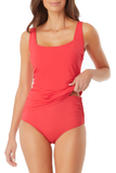 Anne Cole - Square Neck Tankini Top