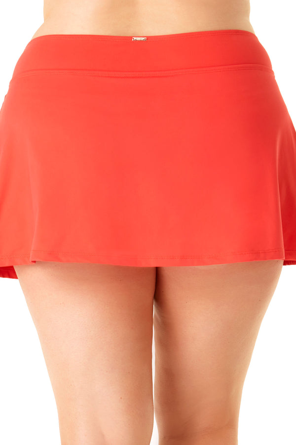 Anne Cole Plus - Classic Skirt Swim Bottom