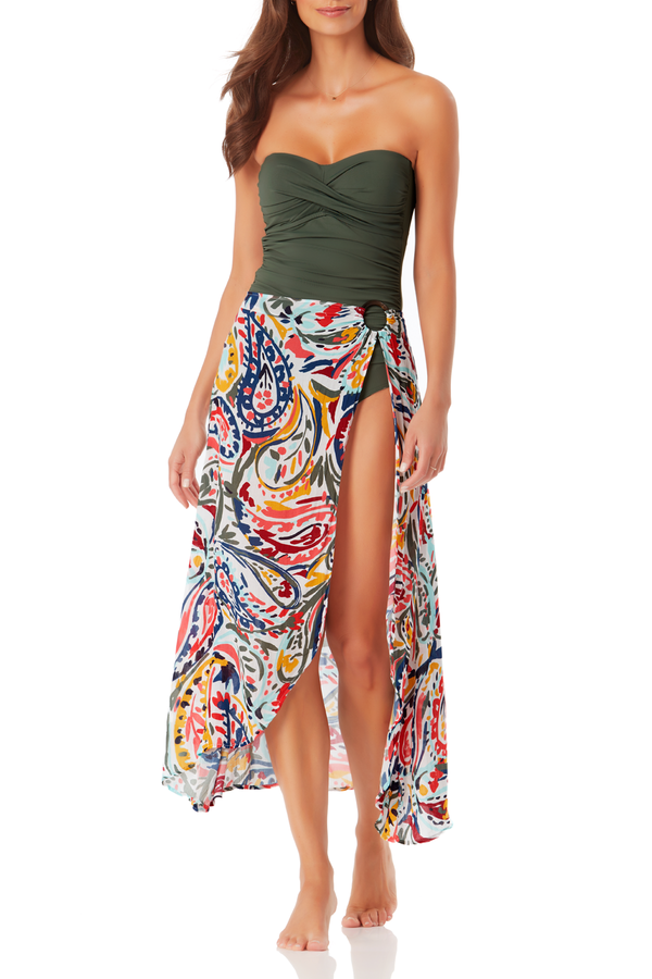 Anne Cole - Ring Sarong Skirt