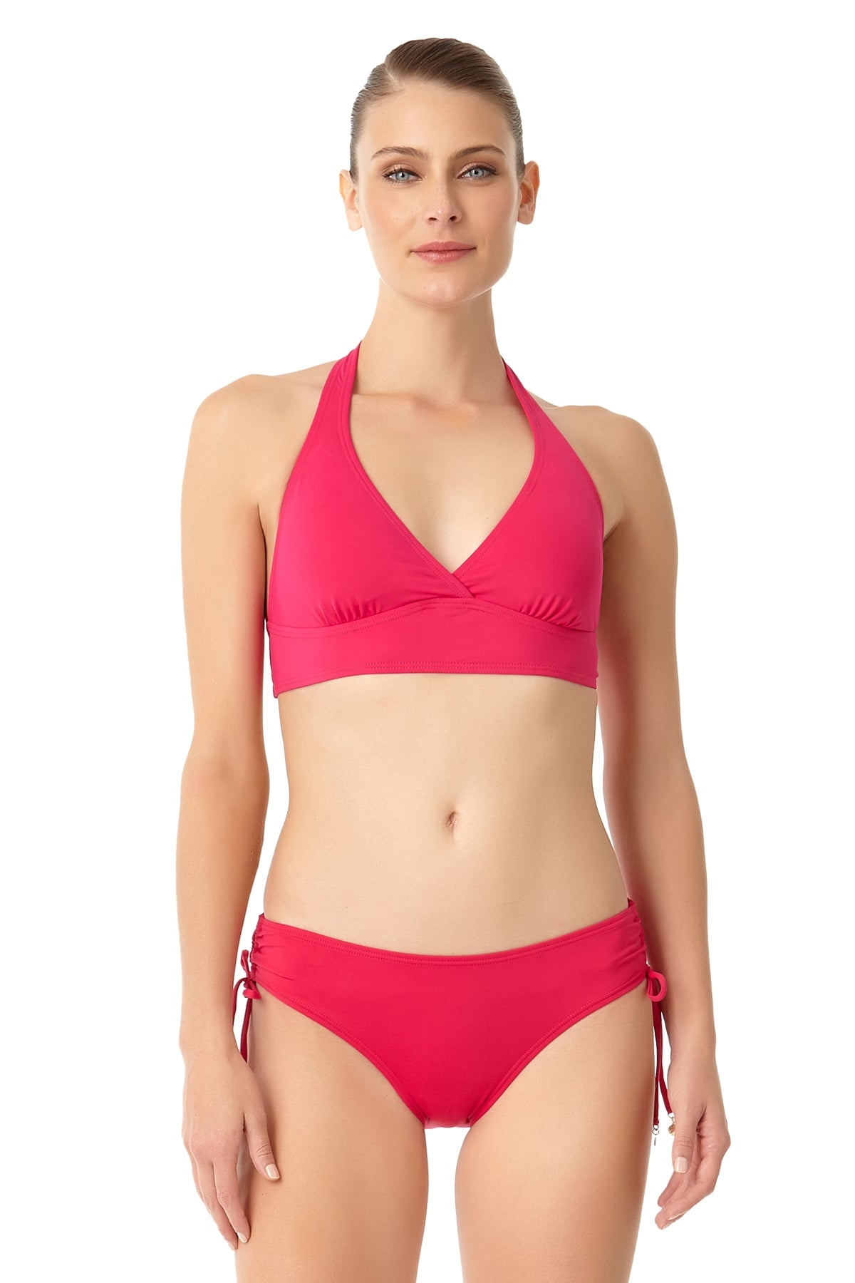 Anne Cole - Live In Color Marilyn Halter Bra Swim Top