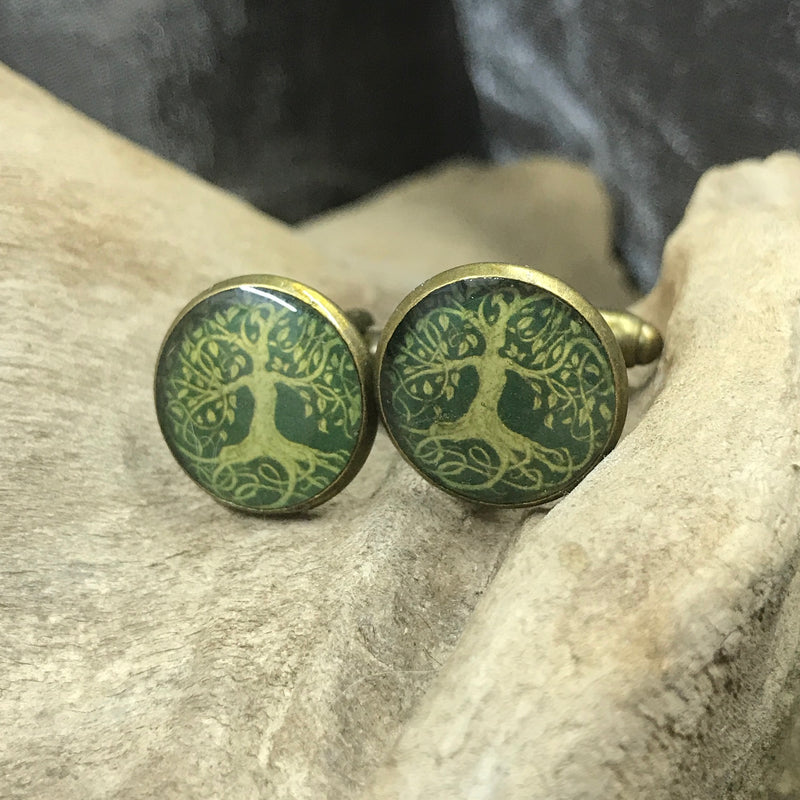Dancing Tree Cufflinks