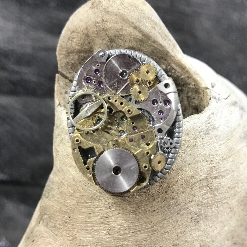 Steampunk Watch Parts Ring