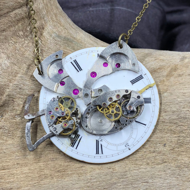 Steampunk Insect Necklace