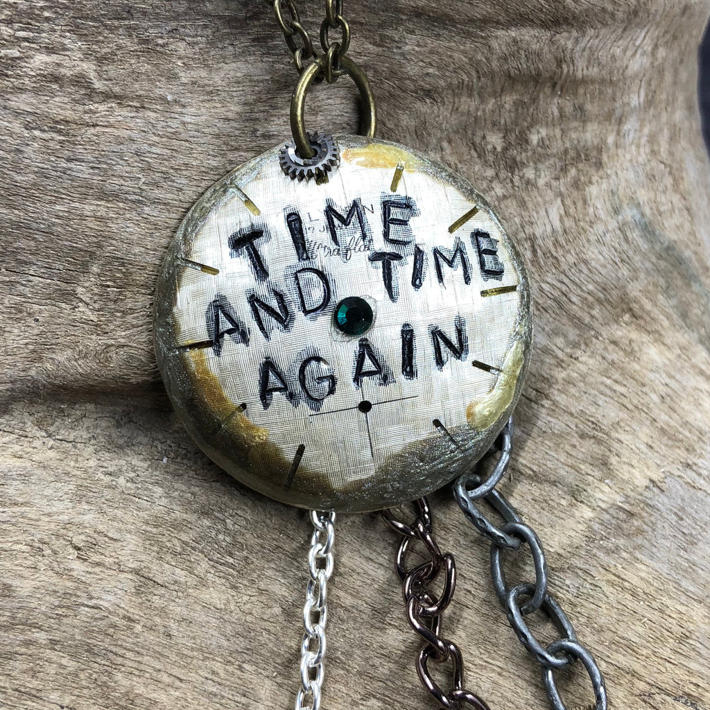 """Time and Time Again"" Necklace"