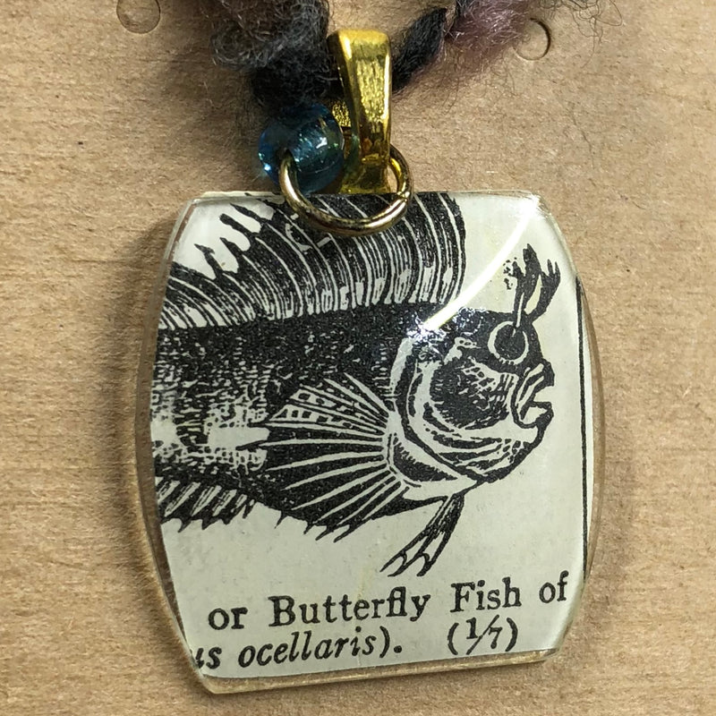 Butterfly Fish Charm