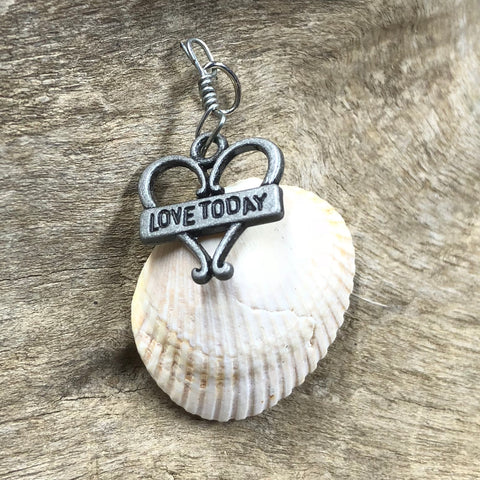 Love Seashell Pendant