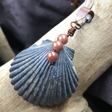 Live Loud Seashell Pendant