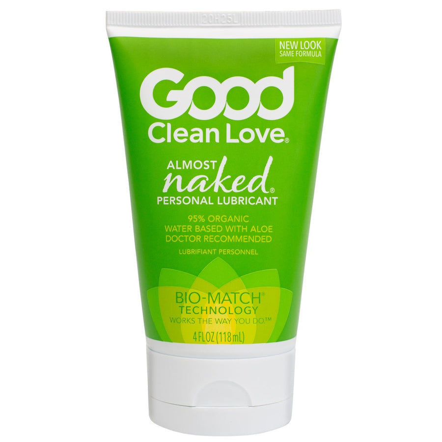 Good Clean Love, Almost Naked Water Based Personal Lubricant 4 fl oz (120 ml) Piece Good Clean Love