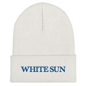 White Sun Beanie (More Colors Available)