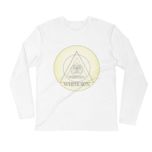 White Sun Logo Long Sleeve T-Shirt (Unisex)