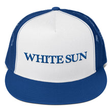 Load image into Gallery viewer, White Sun Trucker Hat (More Colors Available)