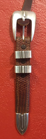 Silver Dots Buckle