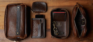 Bison Leather Accessories by Coronado Leather