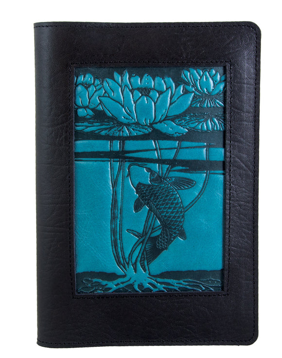 Oberon Water Lily Icon Refillable Journal Cover