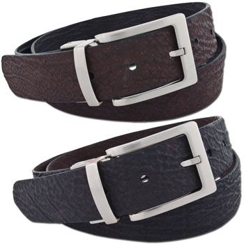 Chacon Sharkskin Straight Belt