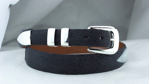 Chacon Stingray Tapered Belt in Black