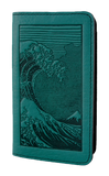 Oberon Hokusai Wave Smartphone Wallet in Teal