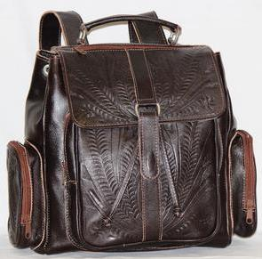Ropin West Medium Backpack in Brown