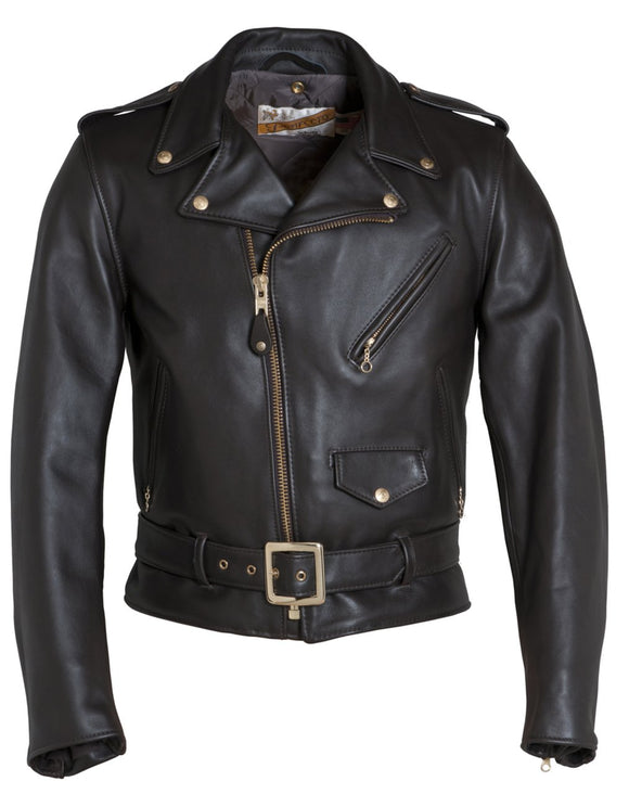 Classic Perfecto Steerhide Leather Motorcycle Jacket