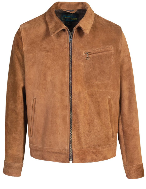 Unlined Rough Out Cowhide Jacket