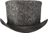 Head'n Home Hat Gent Steampunk Top Hat in Silver
