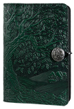 Oberon Tree of Life Refillable Journal Cover in Green