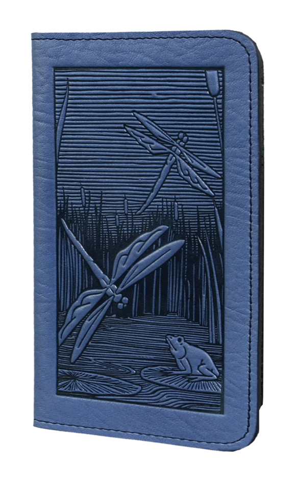 Oberon Dragonfly Pond Smartphone Wallet in Sky Blue