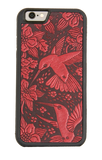 Oberon Hummingbird iPhone Case in Red