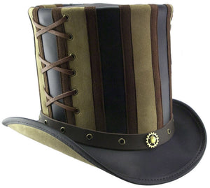 Head'n Home Hat Absinthe Stovepipe Top Hat